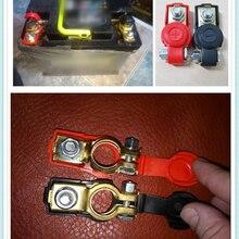 Автомобильный аккумулятор, клеммный разъем, батарея, быстрый выпуск, медный зажим, крышка для Toyota VIOS LAND CRUISER PRADO COASTER highlander