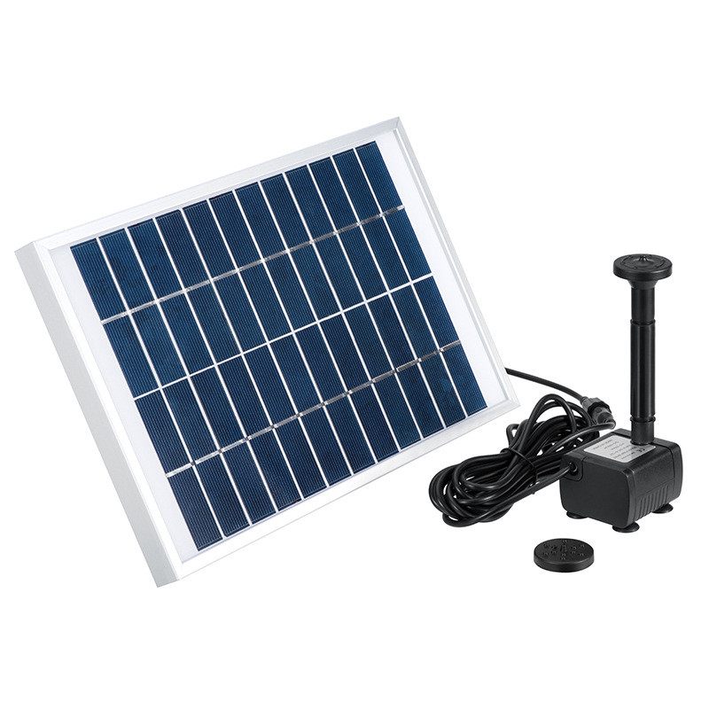 Solar Fountain For The Pool Nozzles Plants Watering Kit Garden outdoor water fountain Decor Greenhouse Irrigation