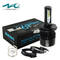 LED Motorcycle Headlight H4 4000LM Motorbike Light 36W BA20D Head Lamp For Ktm Exc Cafe Racer