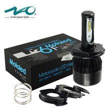 NAO Motorcycle headlight H4 LED HS1 led bulb 4000LM Motorbike HS1 light 36W BA20D White 6000K