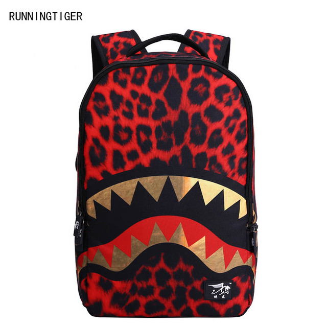 RUNNINGTIGER brand Leopard Shark Mouth Laptop