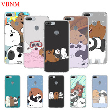 We Bare Bears Printing Protect Phone Case For Huawei Honor 8X 20 9 10 lite 8A Pro 10i 20i 8S V20 Y5 Y6 Y7 Y9 2019 Prime Cover