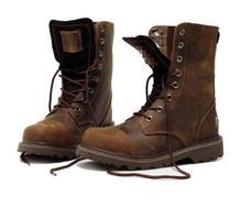 Новинка 2018, мужские ботинки, натуральная кожа, зимняя Уличная обувь для пустыни, мотоциклетные ботинки, ретро дизайн, модные сапоги до середины икры, размер 39-44 плюс
