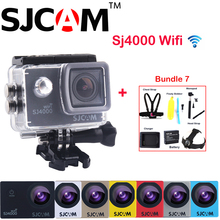 Original SJCAM SJ4000 WiFi NTK96655 2″ 12MP 30M Waterproof Sports Action Camera Sj 4000 Wifi Cam DVR With Various Accessories