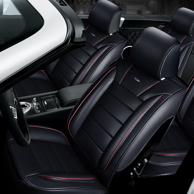 3D Styling Car Seat Cover For Volvo C30 S40 S60L V40 V60 XC60 XC90High Fiber LeatherCar Padauto Cushions