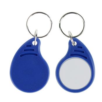 (Zestaw 10 20 50 100) RFID MF 1 K klasyczny breloki 13 56 MHz ISO14443A kontroli dostępu karty dostępu System inteligentny klucz piloty NFC token tanie i dobre opinie OBO RĘCE 12#IC key1 13 56MHz RFID Keyfobs up to 8cm MF 1k Niebieski 10 50 100pcs optional