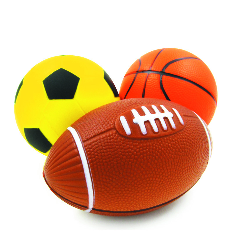 Small Toy Basketball : Kunboss kid toy soft rubber small rugby soccer basketball