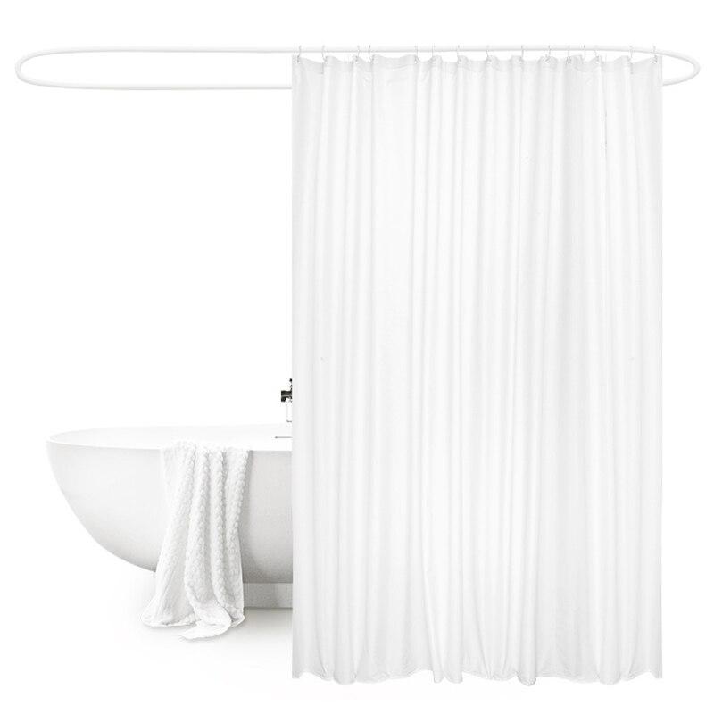 UFRIDAY Yeni Ağ Duş Perdesi Parça Polyester Otel Vanna otağı - Ev əşyaları - Fotoqrafiya 6