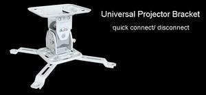 Image 3 - NBT717M Universal Projector Bracket Ceiling Mount Hanger Tilt Swivel Full Motion