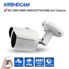 HD 720 P/1080 P AHD Камеры 4 в 1 пуля металлический корпус Водонепроницаемый IP66 Открытый Ночного Видения ВИДЕОНАБЛЮДЕНИЯ камеры безопасности de segurança