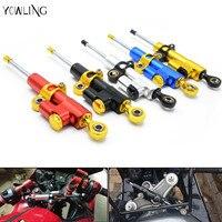 Universal Aluminum Motorcycle CNC Steering Damper For Honda CB 599 919 400 CB600 HORNET CBR 600
