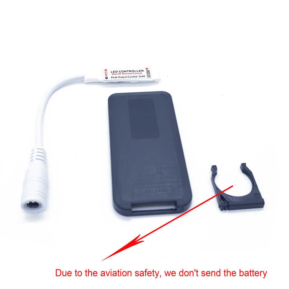 USB DC 5 V-24 V kontroler LED 17 klucz pilot bezprzewodowy rf ściemniacz/Inline LED sterownik do 5050 3528 RGB taśmy LED światła