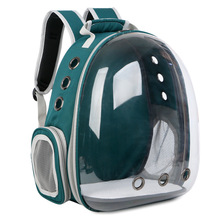 New Arrival Pet Backpack Cat Carrier Transparent Outdoor Puppy Dog Breathable Supplies for