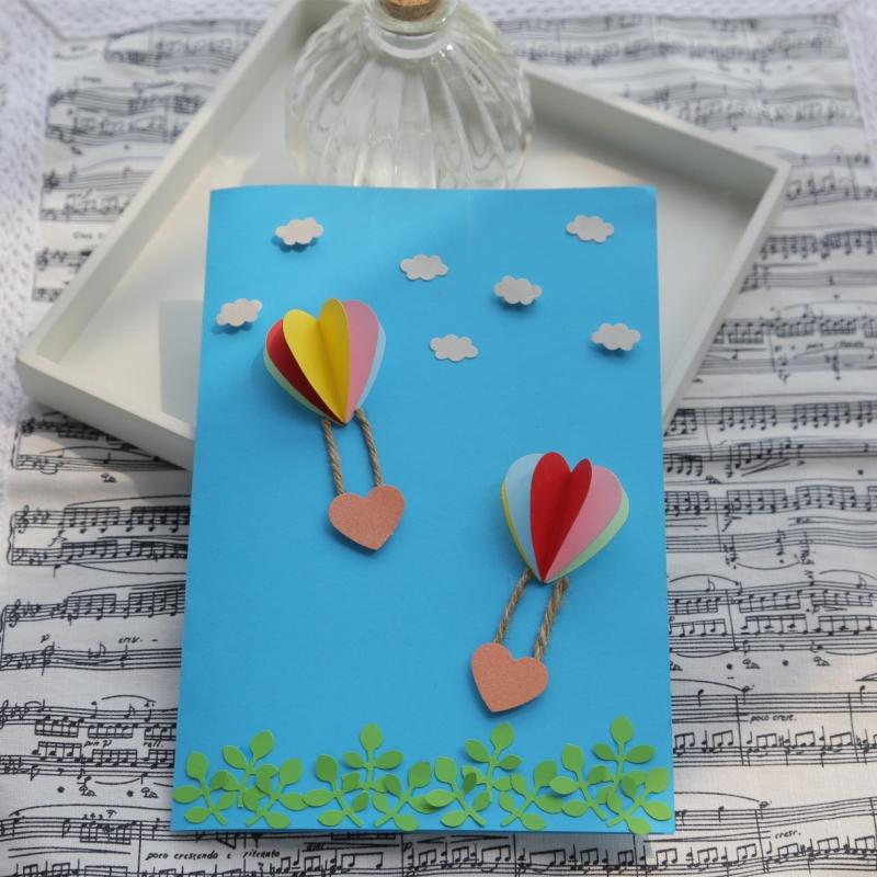 Cheap children diy handmade greeting card material package ...