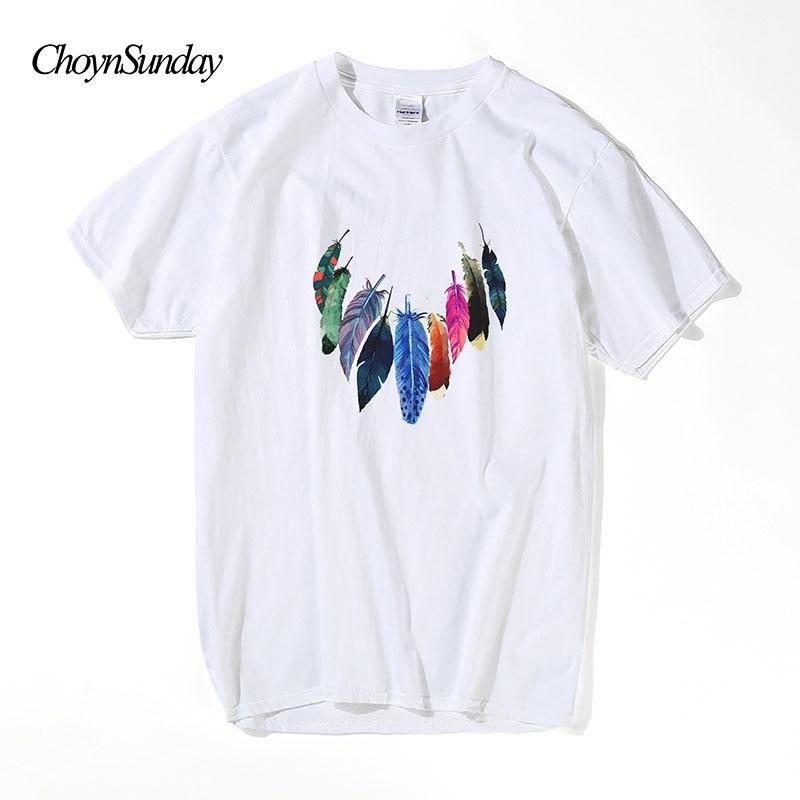 ChoynSunday रचनात्मक डिजाइन पंख - पुरुषों के कपड़े