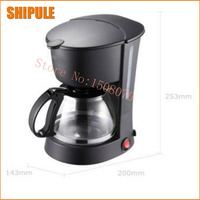 Automatic espresso coffee machine portable drip coffee maker cappuccino with milk steaming high quality