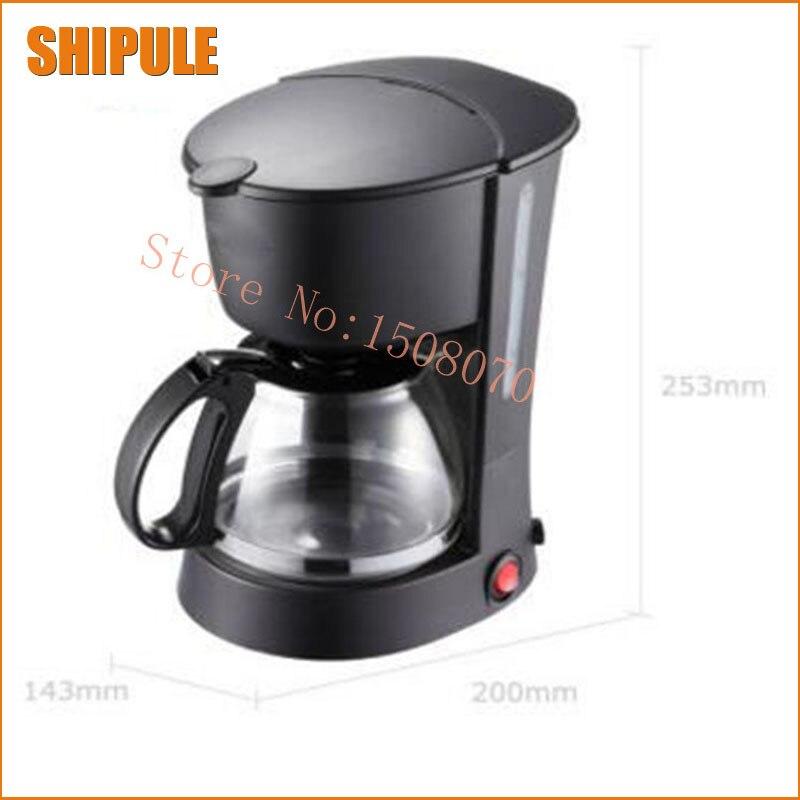 Machine à café expresso automatique cafetière goutte à goutte portable cappuccino avec lait à la vapeur de haute qualité