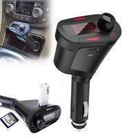 2016 Mini Portable Car Kit MP3 Player Wireless FM Transmitter Auto Radio Adapter FM Modulator Stereo