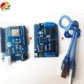 Oficial DOIT ESPduino Kit de Placa de Desarrollo Compatible con WiFi para Arduino UNO R3 Motor de $ number vías y $ number vías de Control Servo