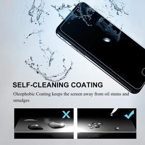 Image 5 - 50 pièces verre trempé pour iPhone 7 8 6 6s Plus 5 5S SE 2020 Film de protection décran pour iphone X XR XS MAX 11 Pro Max Film de verre