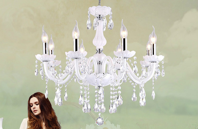купить Led Crystal chandelier home lighting luminaire lustres de cristal Modern kitchen Dining room Living room chandeliers candelabro по цене 5201.81 рублей