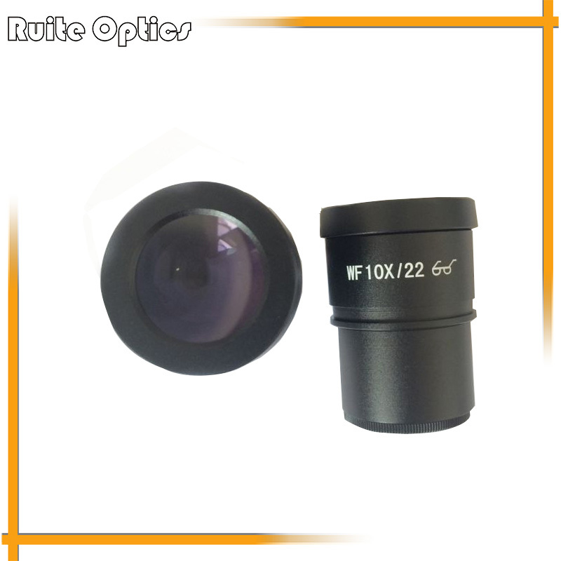 WF10X/22 High Eye-Point Eyepieces for Compound Microscope (30mm) цены