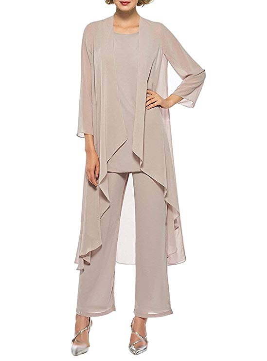 Bride-Pant-Suits Long-Jacket Custom-Made Three-Pieces Women's The of with Casual