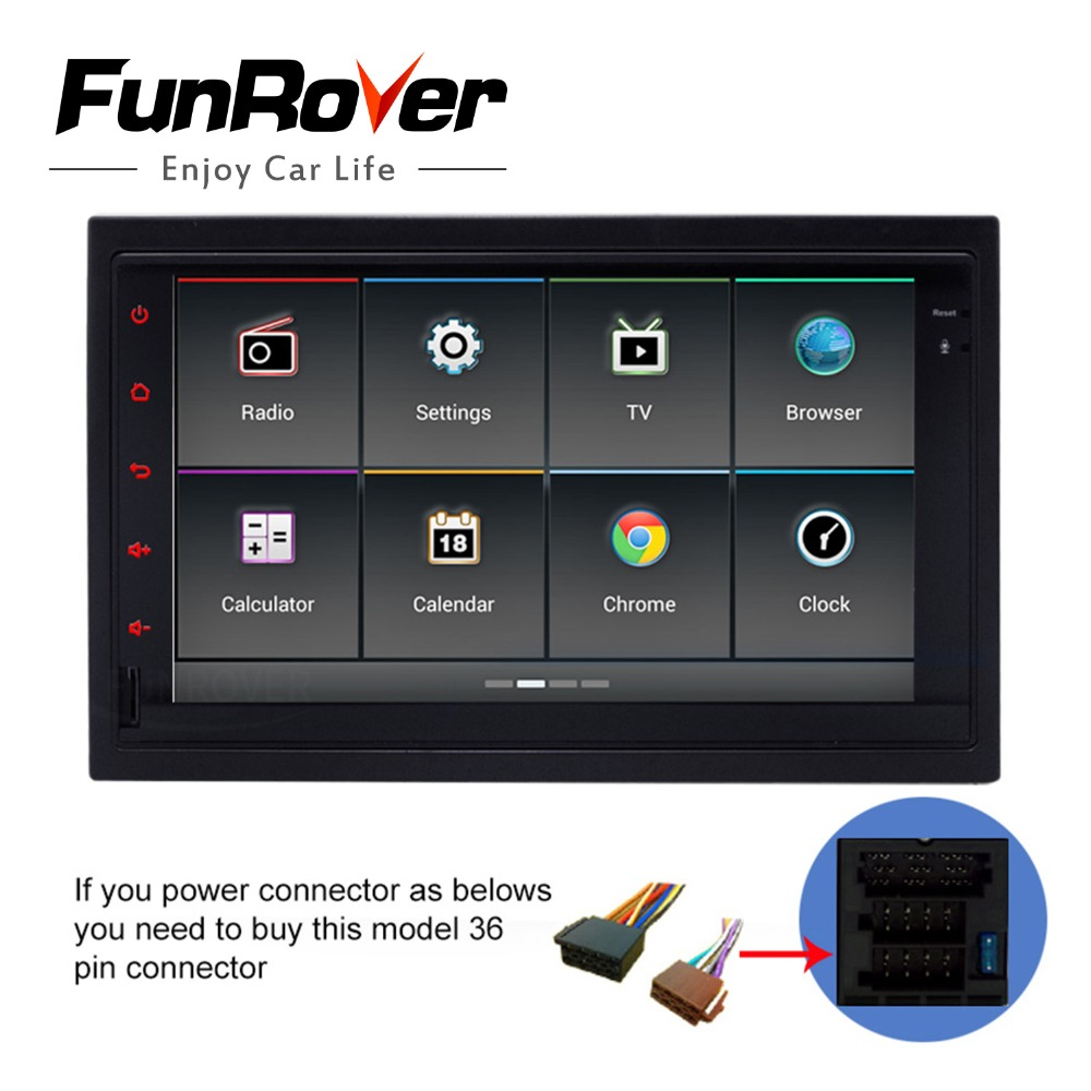 Funrover Car DVD Player for old <font><b>vw</b></font> Original android Radio gps Navigation ISO Plug For Passat B5 <font><b>Golf</b></font> 4 Polo Jetta 2001-04 Canbus image