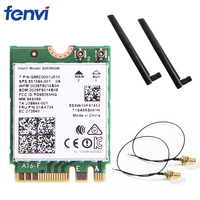 Dual Band 2 4G 5Ghz Wifi Bluetooth Wlan For Intel 8265NGW Wireless AC 8265 NGFF 802