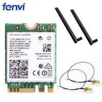 Double bande 2.4G/5 Ghz Wifi Bluetooth Wlan pour Intel 8265NGW sans fil-AC 8265 NGFF 802.11ac 867 Mbps 2x2 MU-MIMO WIFI BT 4.2 carte
