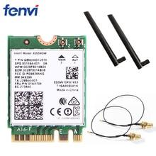 Dwuzakresowy bezprzewodowy Wlan 2.4G/5Ghz dla Intel 8265NGW wireless ac 8265 NGFF 802.11ac 867 mb/s 2x2 MU MIMO Wifi BT 4.2 karta