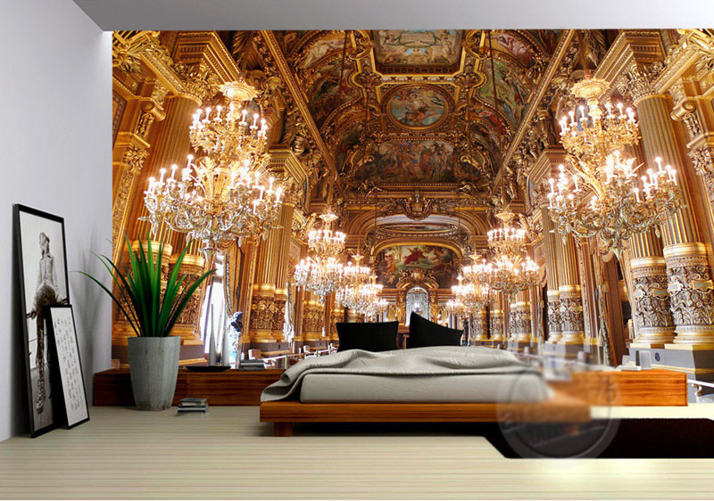 Superb Aliexpress.com : Buy Luxury Palace Wallpaper Custom 3D Wall Mural Modern  Building Photo Wallpaper Bedroom Office Hotel Art Room Decor Home  Decoration From ...