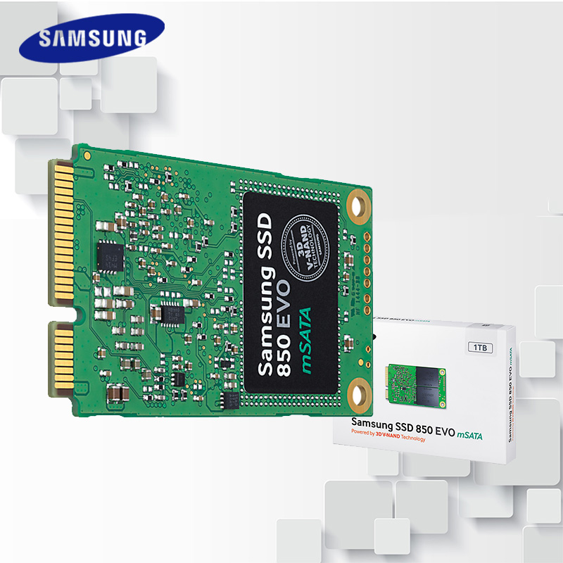 Samsung SSD 850 EVO mSATA SATA III 250GB 500GB 1T Internal Solid State Drive HD Hard High Speed for Laptop PC Computer Desktop samsung internal ssd 850 pro 256gb 512gb 1tb 2tb solid state hd hard drive sata iii high speed for laptop desktop computer pc