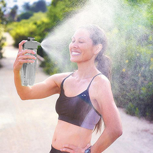 Spray Water Bottle - 700ml, with 3 Modes 1