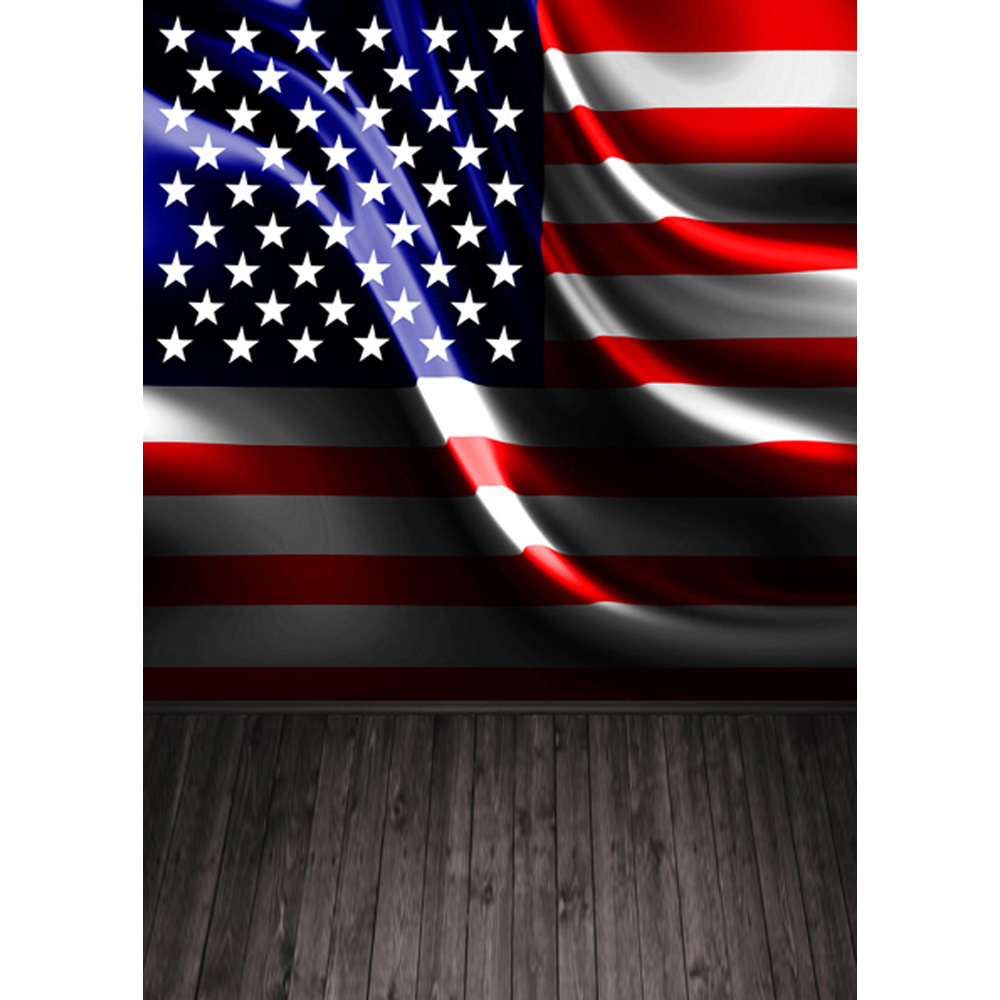 neoback 5x7ft vinyal cloth usa flag photo backgrounds studio
