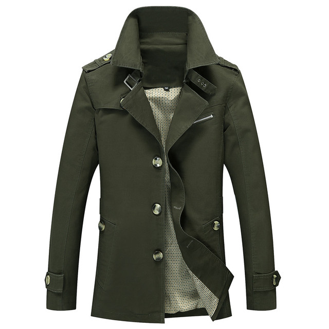 BOLUBAO Men Trench Coats...