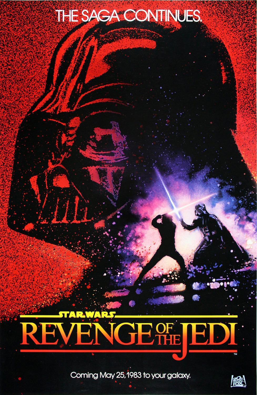 P0279 <font><b>Star</b></font> <font><b>Wars</b></font> <font><b>Episode</b></font> <font><b>VI</b></font> <font><b>Return</b></font> <font><b>of</b></font> <font><b>the</b></font> <font><b>Jedi</b></font> Revenge Home Decor Print Poster 40x60cm