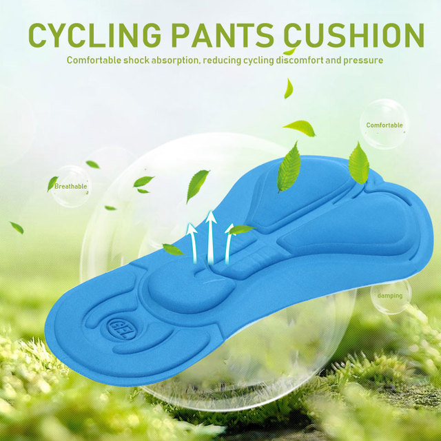 Riding Cushion Bicycle Seat Durable Silica Gel Polychromatic Sponge Pads Pants Pad Outdoor