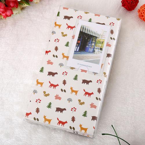 Горячая 84 кармана 1 шт. Мини пленка Instax Polaroid Альбом чехол для хранения фото модные домашние Семейные друзья сохранение памяти сувенир - Цвет: Forest