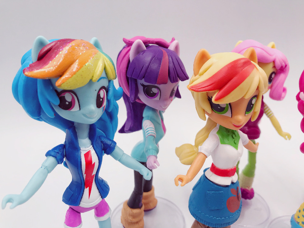 My Little Cute Pony Girl Figurines 13cm 7