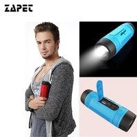 ZEALOT S1 Outdoor Sport Wireless Bluetooth Waterproof Speaker With LED Flashlight 4000mAh Battery FM Radio TF
