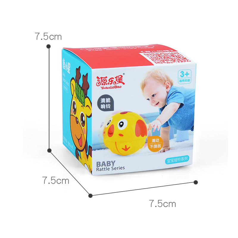 Yuan Lebao coasting rattle inertia toy baby learn to climb the toy rolling ball nod tumbler infant toy