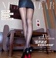 15D Vintage Cuban BLACK/RED Luxury Seamed  Heel Toe reinforcement T-crotch high waist pantyhose, SEXY Leggings  sexy lingerie