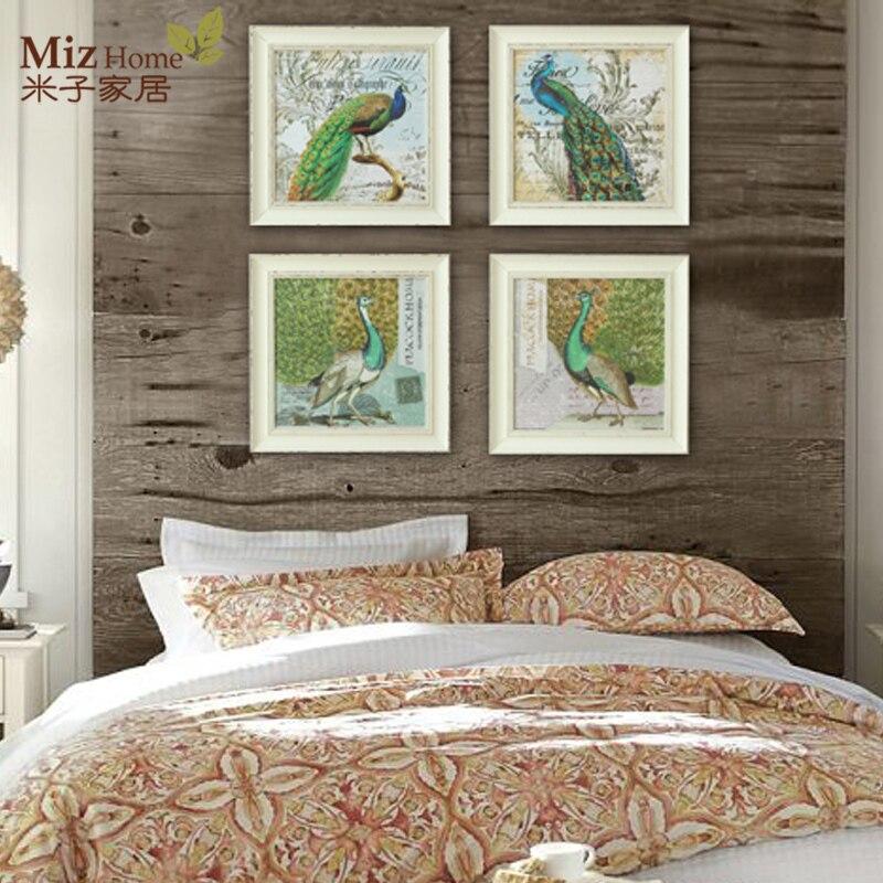 Dormitorio sala de estar comedor den salvaje pinturas murales ...