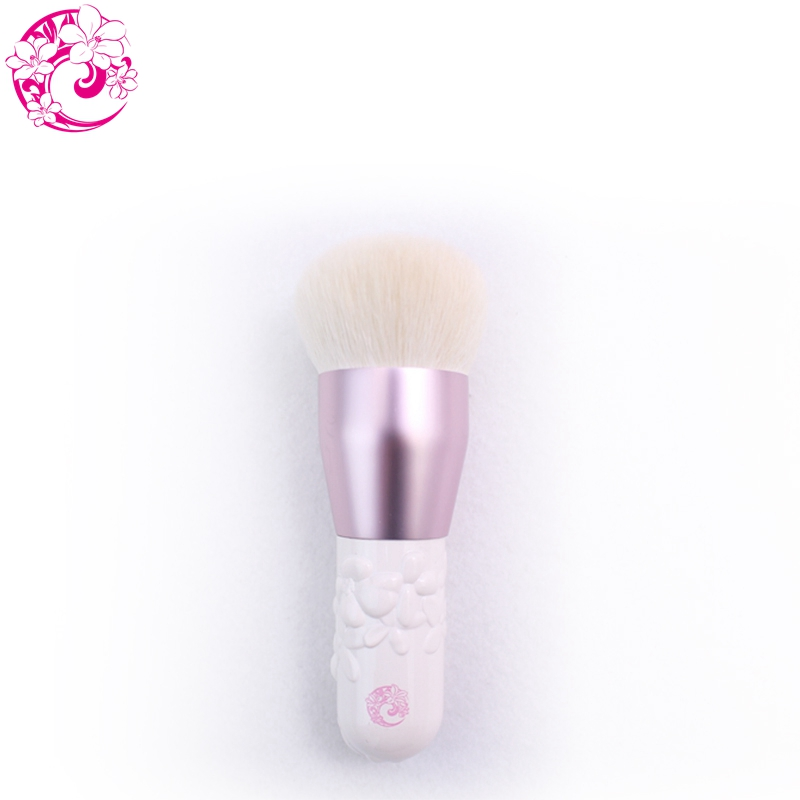 ENERGY Brand Camellia Foundation Powder Kabuki Brush Goat Hair Makeup Brushes Make Up Brush Pincel Maquiagem Brochas S38GP h01 professional makeup brushes squirrel hair sokouhou goat hair powder brush walnut wood handle cosmetic tools make up brush
