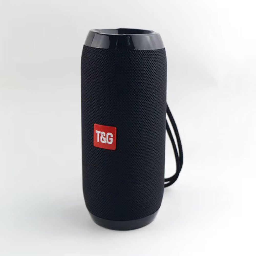 Tahan Air Bluetooth Speaker Portable Outdoor Rechargeable Nirkabel Speaker Soundbar Subwoofer Loudspeaker TF MP3 Built-In MIC