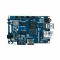 Quad Core Allwinner chip A40i Banana Pi placa de Desenvolvimento com WIFI & BT4.0 M2 Ultra, a bordo de memória Flash EMMC