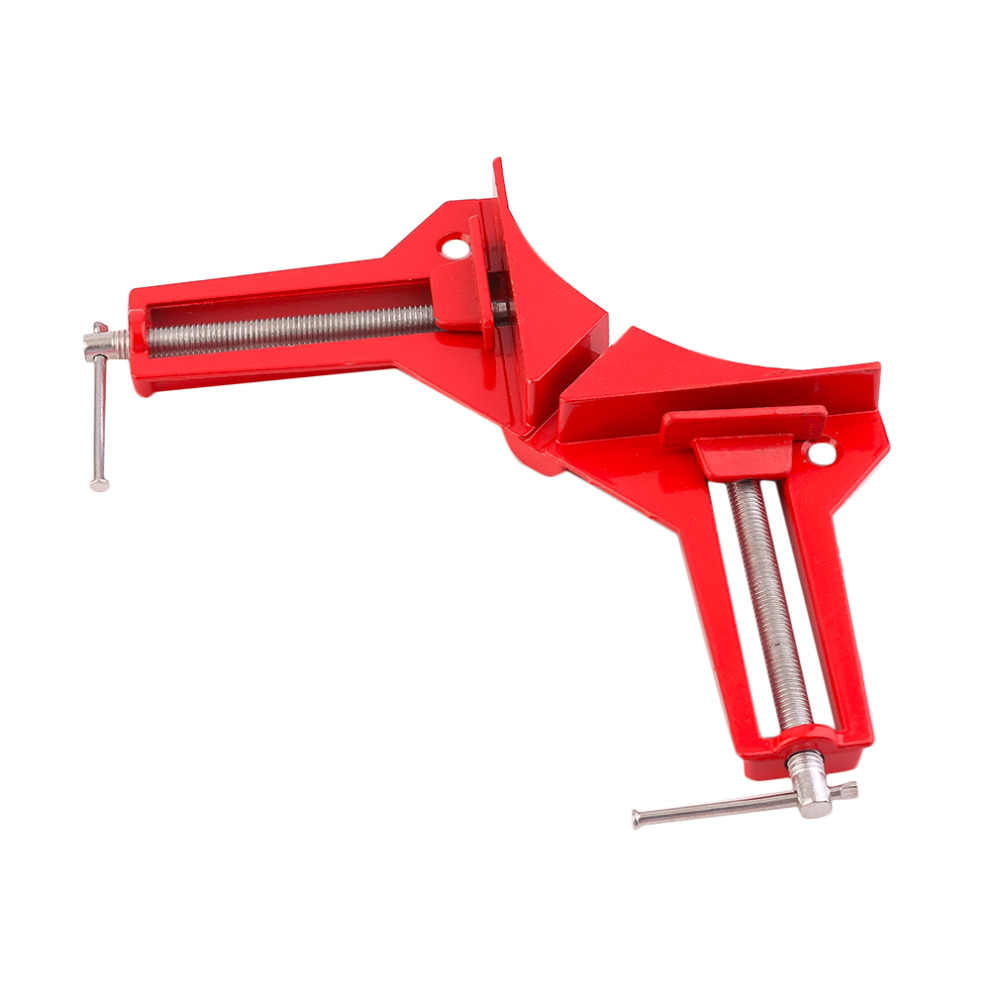 Professional 90 Degree Right Angle Picture Frame Corner Clamp Holder Woodworking Hand Kit Withstand Higher Intensity Force NEW