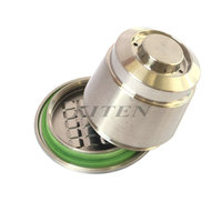 2nd Generation Stainless Steel Metal Refillable Reusable Capsule For Nespresso Machine
