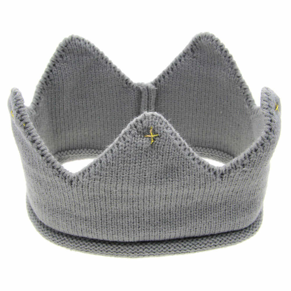 1 unidad de accesorios de foto para bebé recién nacido, sombrero para niños, cinta para cabello suave de lana, accesorios para el cabello tejidos con corona para niños y niñas